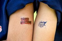 Mini Mike's Temporary Tattoos