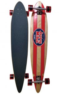 Custom Pintail Longboard